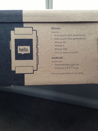 Pebble Shipping box